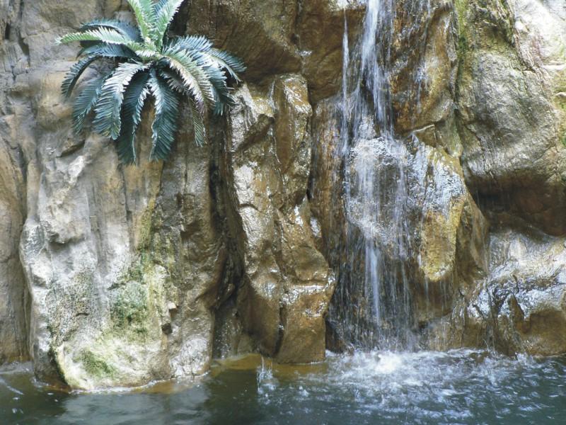 Bueb f painting d coration 3d for Decor rocher piscine